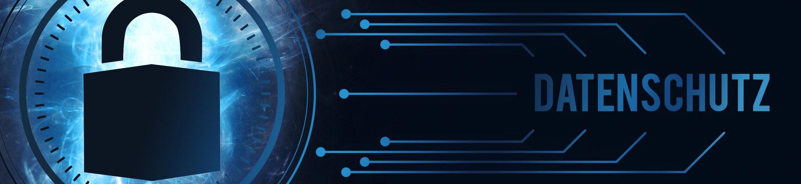 Banner vom Datenschutzhinweisen Werbeagentur