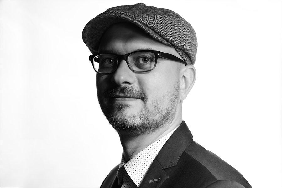 Porträtbild vom Gründer Werbeagentur