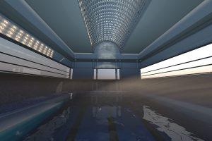 3D Art Schwimmbad